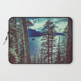 Crater Lake Vintage Summer Laptop Sleeve