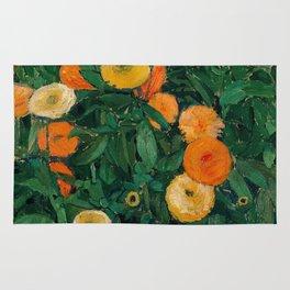 Koloman Moser Marigolds Rug