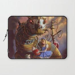 Sandra's Steampunk Alice in Wonderland Laptop Sleeve