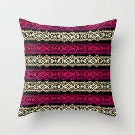 Luxury lace print Throw Pillow