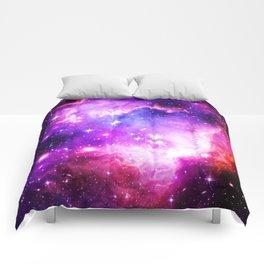 nebula Galaxy Purple Comforters