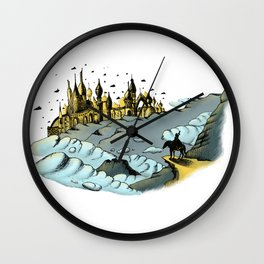 The Golden City Wall Clock