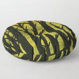 Sunset Forest Floor Pillow