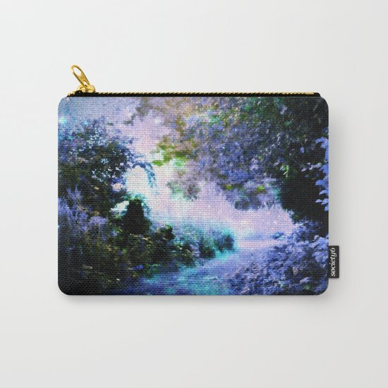 fantasy garden Periwinkle Carry-All Pouch