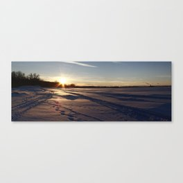 Two-thousand ten Snowfall. Canvas Print