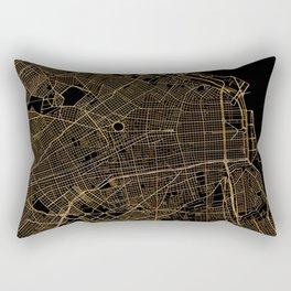 Buenos Aires map, Argentina Rectangular Pillow