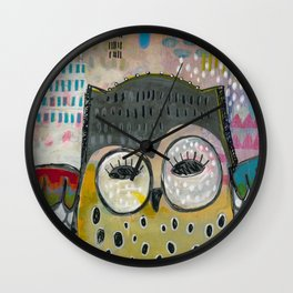 What You Seek Wall Clock