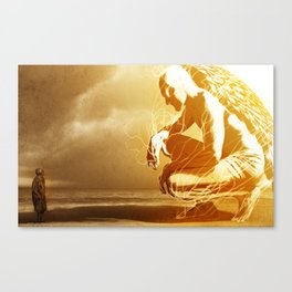 A Mighty Messenger Canvas Print