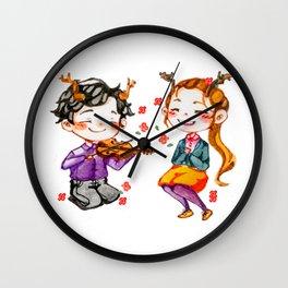 Faun!Lolly Wall Clock