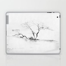 Scots Pine, Gray Laptop & iPad Skin