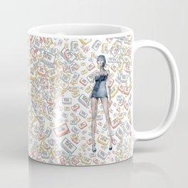London Club Scene | Punk Rock Girl Coffee Mug