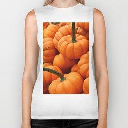 Autumn Pumpkins Biker Tank