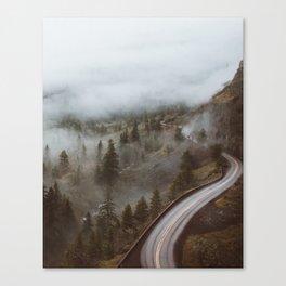 Foggy Rowena Crest Canvas Print