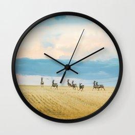 Goodbye Summer Wall Clock