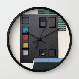 Panel No. 2 Wall Clock