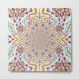 Intricate Maze Metal Print