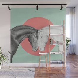 Horse Love Wall Mural