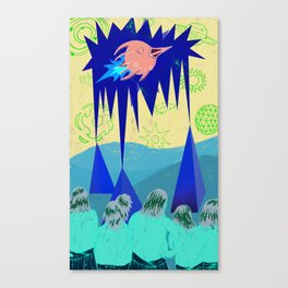 TAKE OFF Canvas Print