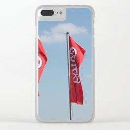 Mainz Flag Clear iPhone Case