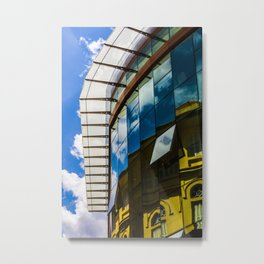 Modern and classic architecture Metal Print
