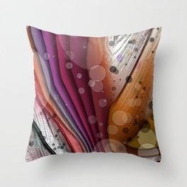 FALL INTO WINTER ABSTRACT ART Throw Pillow
