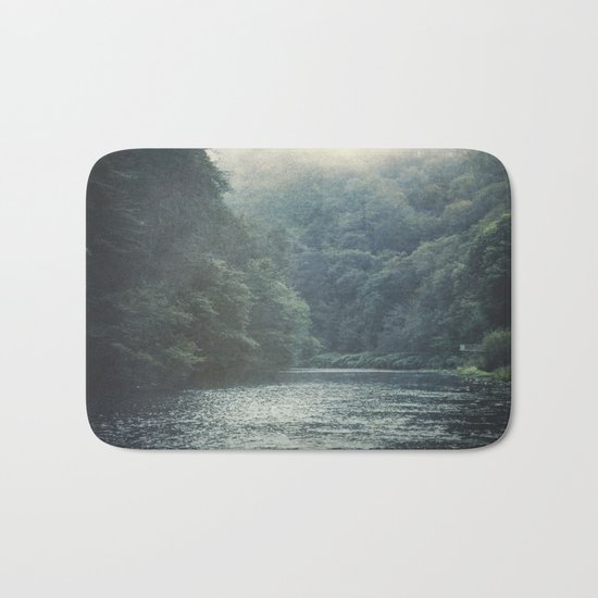 valley and river Bath Mat