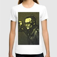 u2 T-shirts featuring U2 / Bono 1 by JR van Kampen