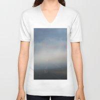 utah V-neck T-shirts featuring Utah Sky by Sophie Pellegrini
