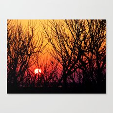 Delaware Sunset Canvas Print