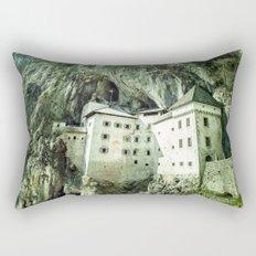 Majestic Predjama Castle Rectangular Pillow