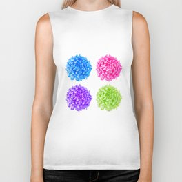 Pop Art Flowers 4 in 1 Biker Tank