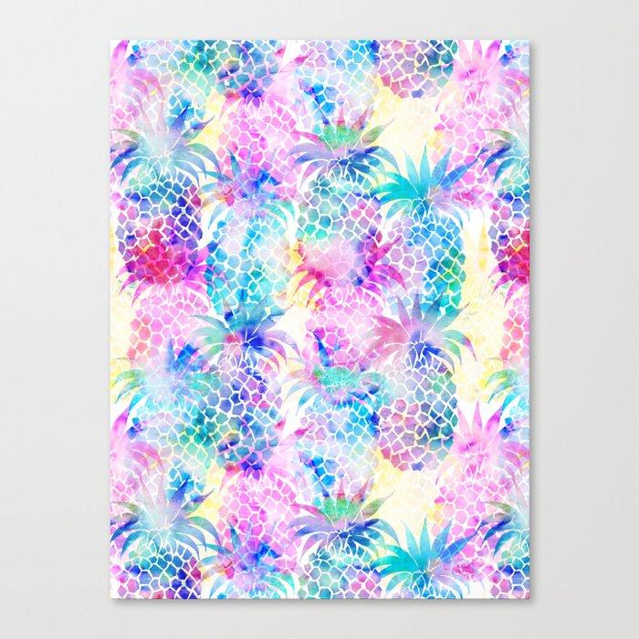 Pineapple Dream Canvas Print