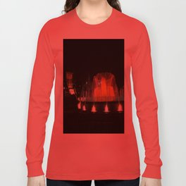 Barcelona Fountain Long Sleeve T-shirt