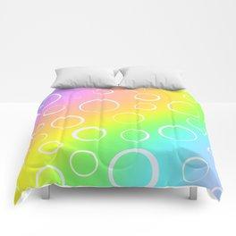 Colorful Rainbow Gradient Design! Comforters