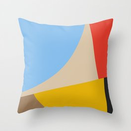 Mid Century Minimal 6 Throw Pillow