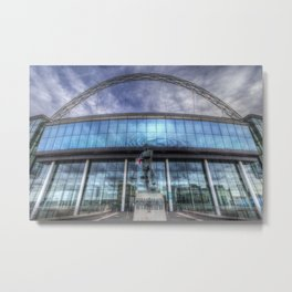 Wembley Stadium London Metal Print