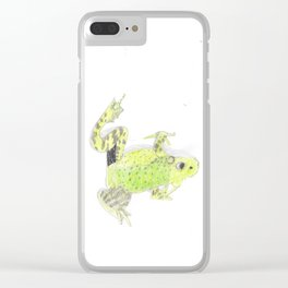 The Upside down Champion Clear iPhone Case