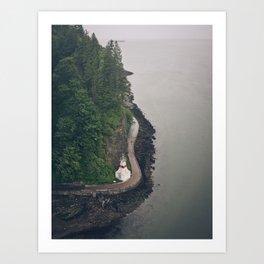 Stanley Park, Vancouver  Art Print