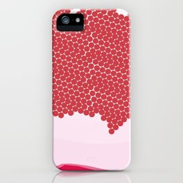 Abstract Pomegranate Pattern iPhone Case