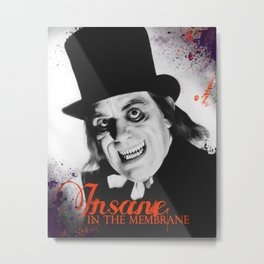 London After Midnight Metal Print
