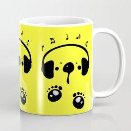 Panda bear love music Coffee Mug