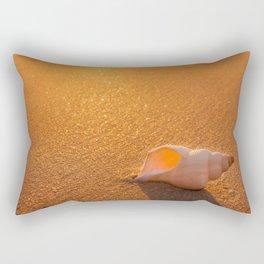 Golden lights Rectangular Pillow
