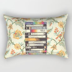 VHS & Entry Hall Wallpaper Rectangular Pillow