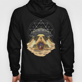 Alien Abduction Anunnaki Space Egyptian Pyramids Hoody