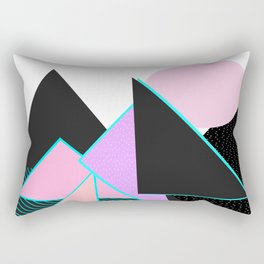 Hello Mountains - Moonlit Adventures Rectangular Pillow