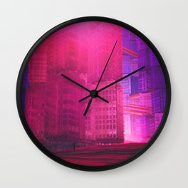 Cubii Wall Clock