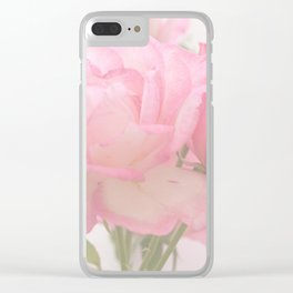 Gentleness - Soft Pink Rose #1 #decor #art #society6 Clear iPhone Case