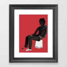 Colera Framed Art Print