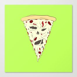 Pizzanomicon Canvas Print