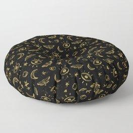 Midnight Coffee Floor Pillow